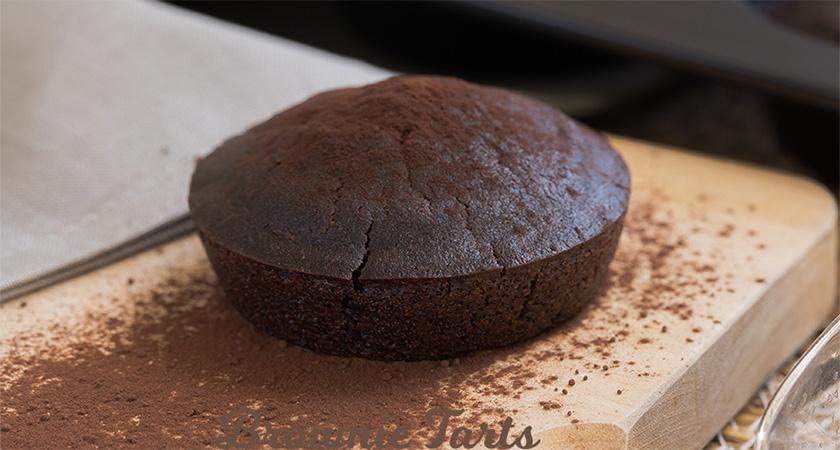 Brownie Tart vegan glutenfrei zuckerfrei